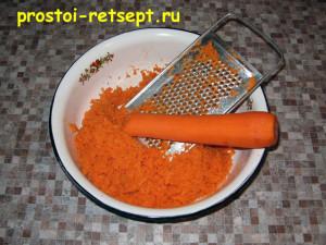 Морковная халва: морковь натереть на мелкой терке