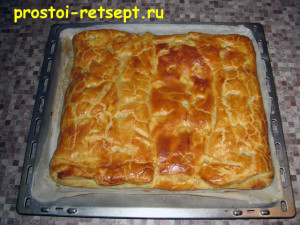Быстрый пирог: выпекать 40 минут
