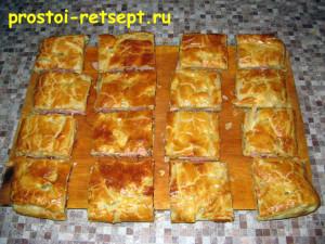 Быстрый пирог: разрезаем на куски