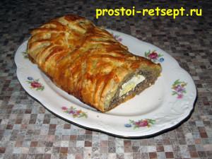 Мясной рулет - сытное и вкусное блюдо