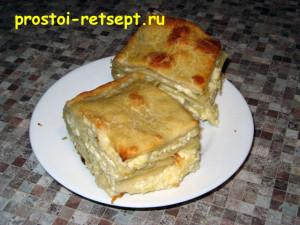 Ачма: слоеный сырный пирог