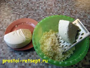 Ачма: натереть сыр