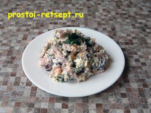 Салат с красной фасолью: сытный и вкусный