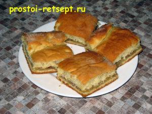 Пирог лимонник: пирог готов