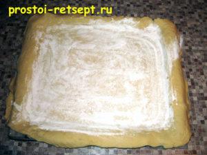 Пирог лимонник: раскатать основу пирога