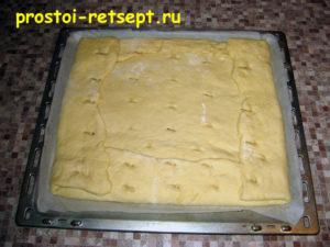 Пирог лимонник: сделать надрезы