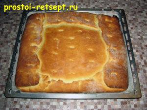 Пирог лимонник: выпекать 30 минут