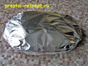 Индейка в духовке: накрыть фольгой