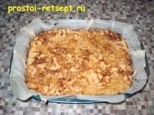 Болгарский яблочный пирог: выпекаем 45 минут