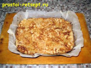 Болгарский яблочный пирог: остудите пирог